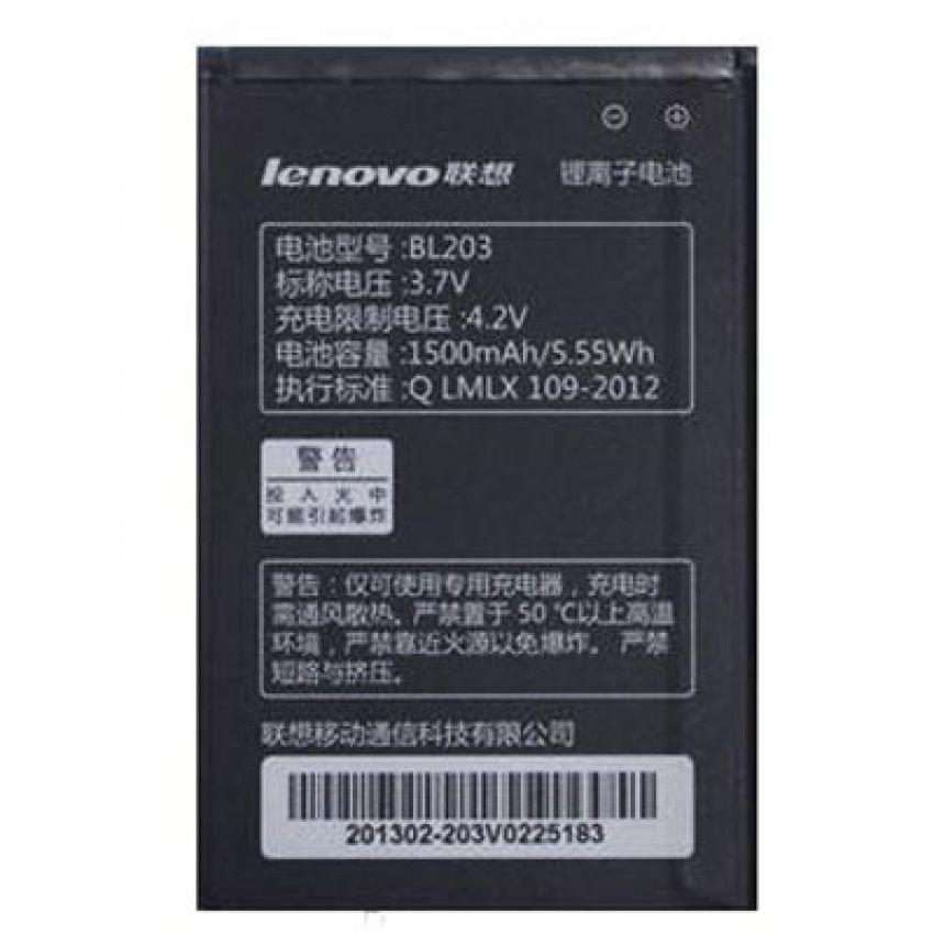 АКБ Lenovo BL203 A369/ A316/ A66/ A278t/ A365e (1500 mAh) 100% or