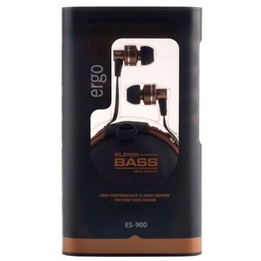 Наушники ERGO ES 900 Bronze