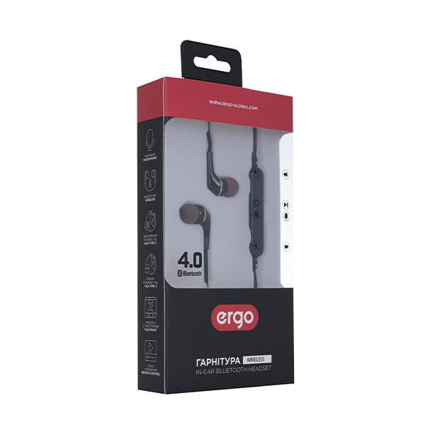 Bluetooth Наушники Ergo BT-800 Black