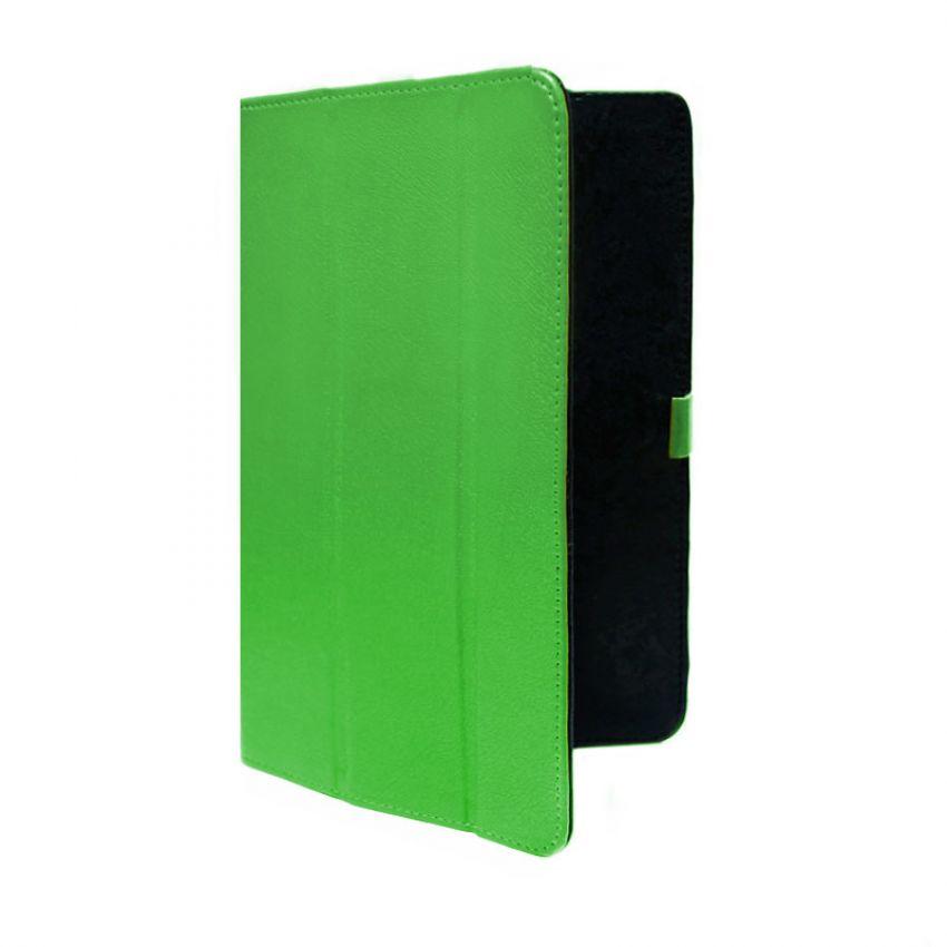 Сумка книжка универсальная для планшетов Ultra 7 дюймов (скоба) Green
