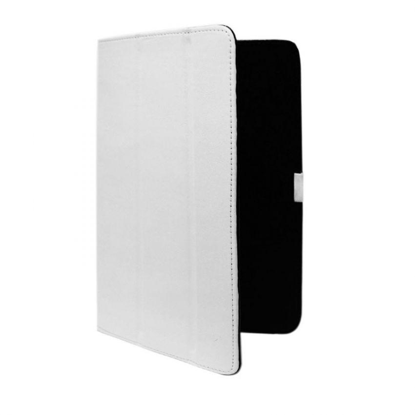 Сумка книжка универсальная для планшетов Ultra 7 дюймов (скоба) White