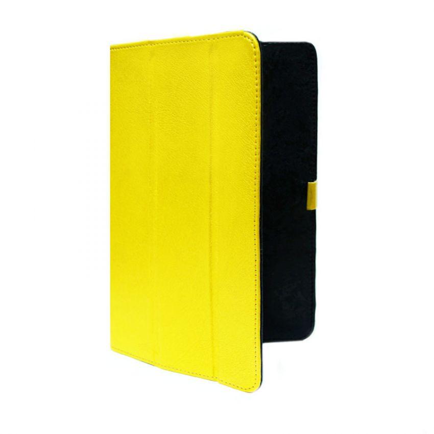 Сумка книжка универсальная для планшетов Ultra 7 дюймов (скоба) Yellow