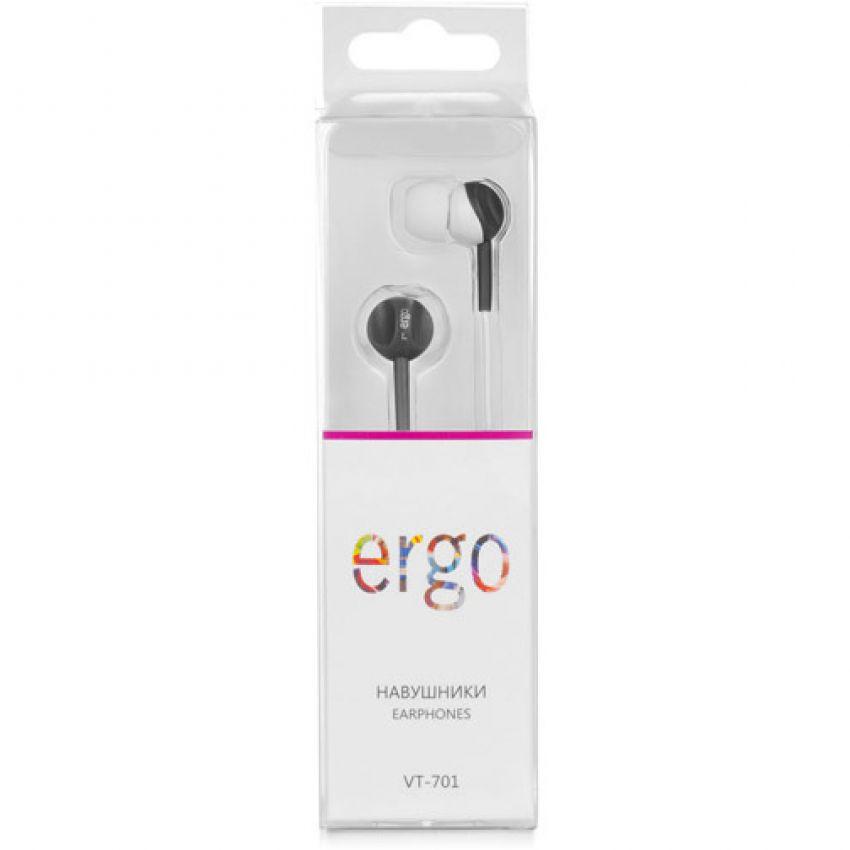 Наушники ERGO Ear VT-701 White