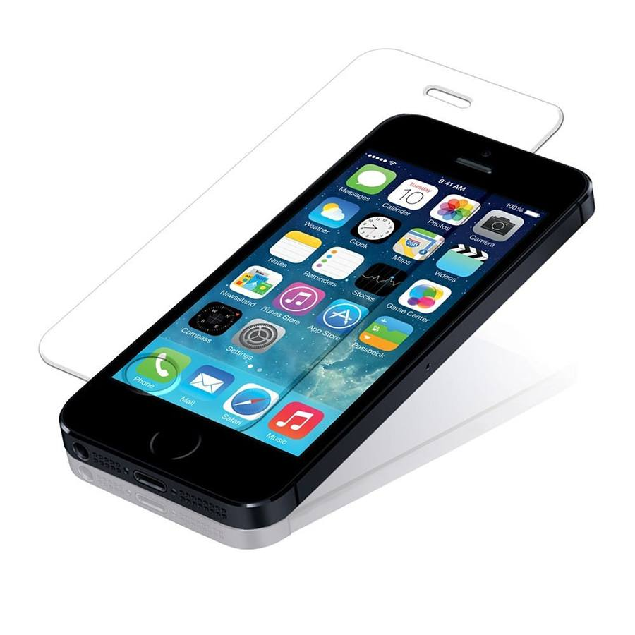 Защитное стекло для iPhone 5/5S 2 in 1