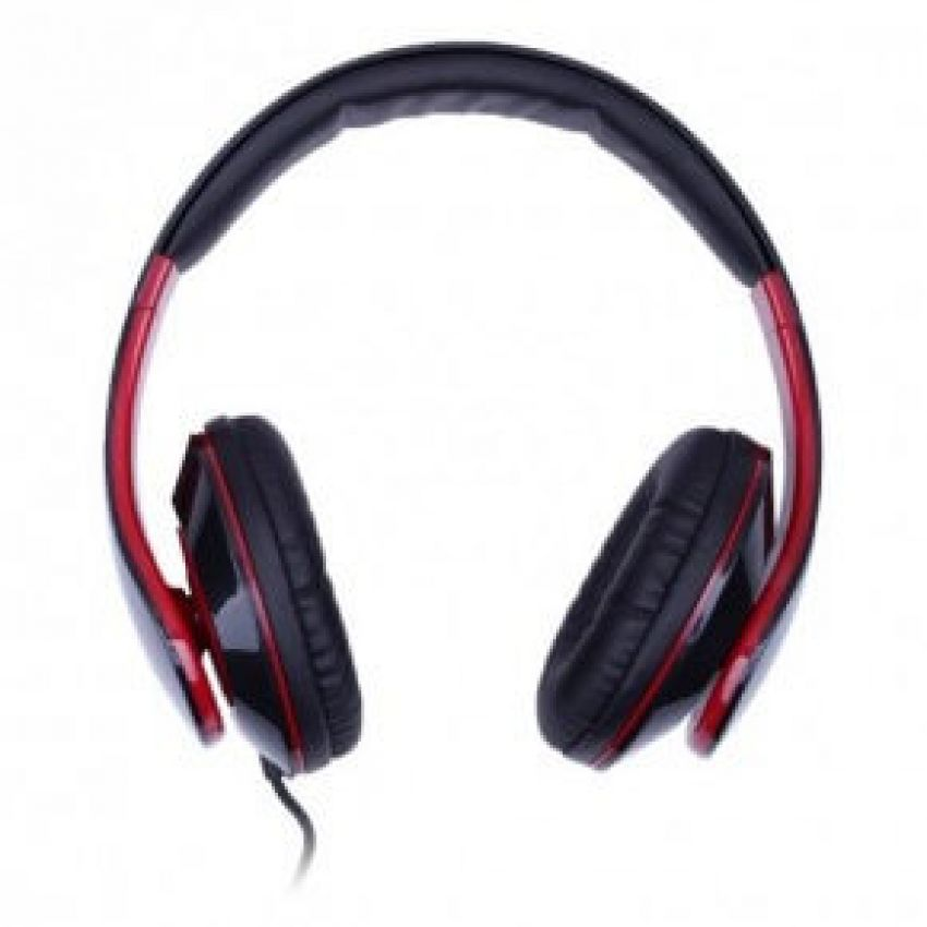 Наушники ERGO Ear VM-390 + mic Red