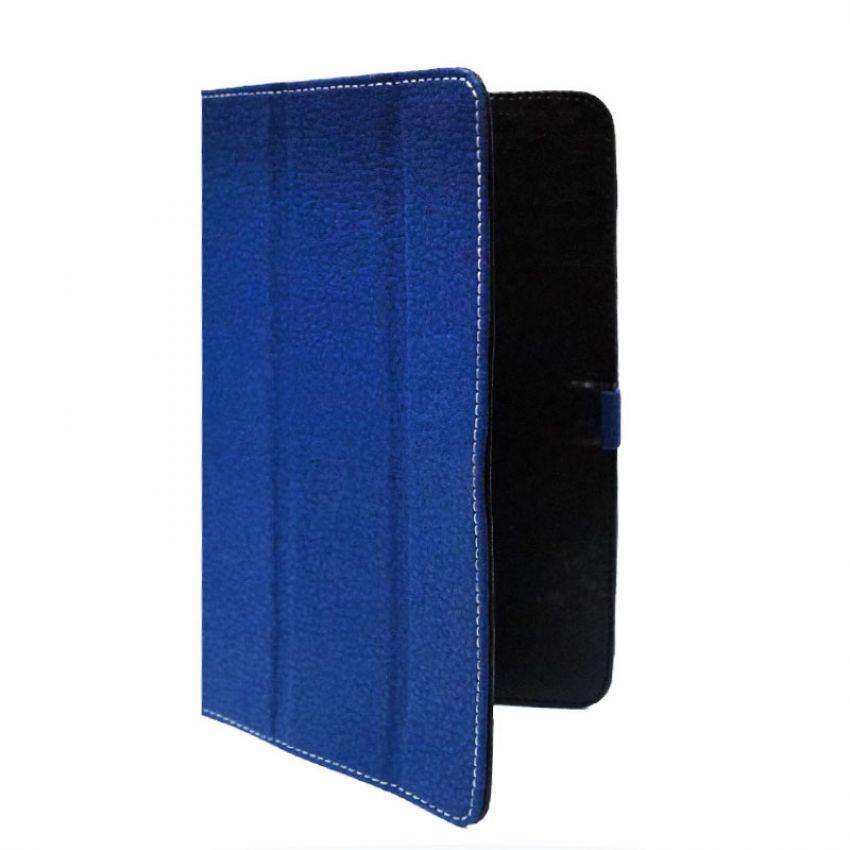 Сумка книжка универсальная для планшетов Ultra 10.0 дюймов (скоба) Dark Blue