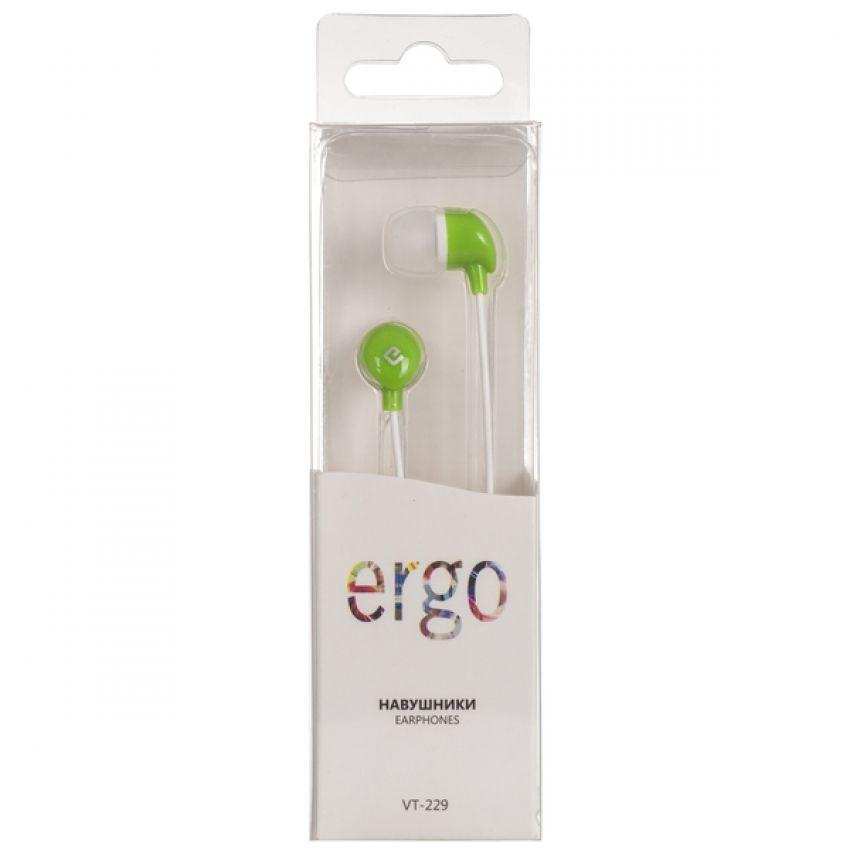 Наушники ERGO Ear VT-229 Green