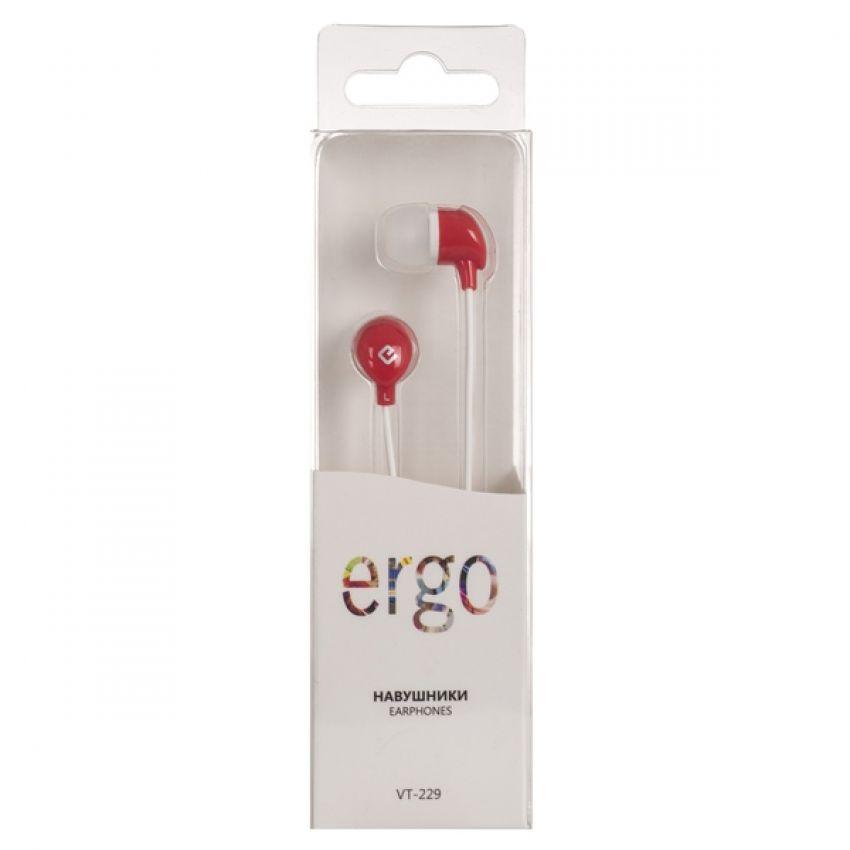 Наушники ERGO Ear VT-229 Red