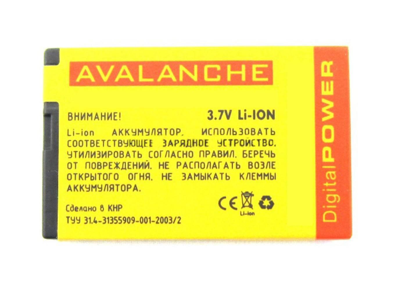 АКБ Nokia BP-4L/BL-4L (E71/E52/N97) 1500 мАч Avalanche Prem