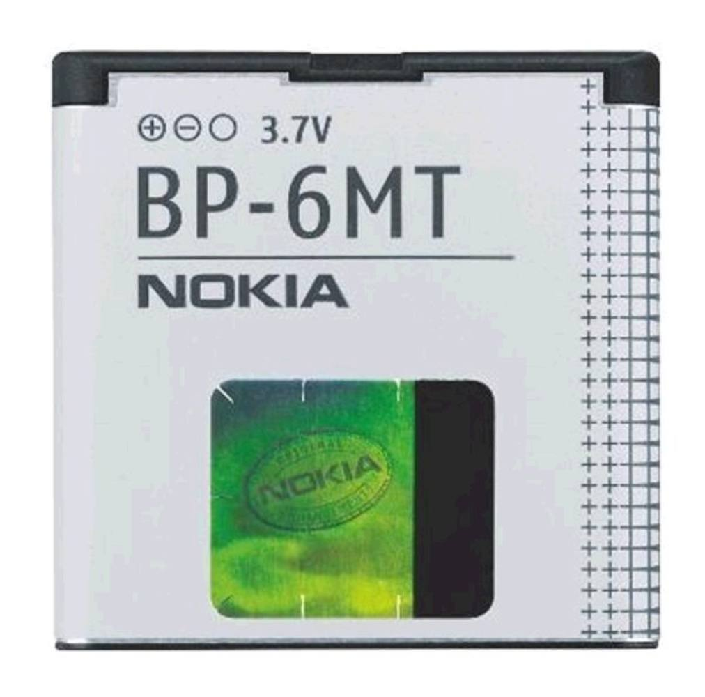 АКБ Nokia BP-6MT (6720c/E51/N82/N81/N81-8GB) or