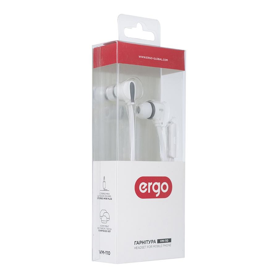 Наушники ERGO Ear VM-110 White