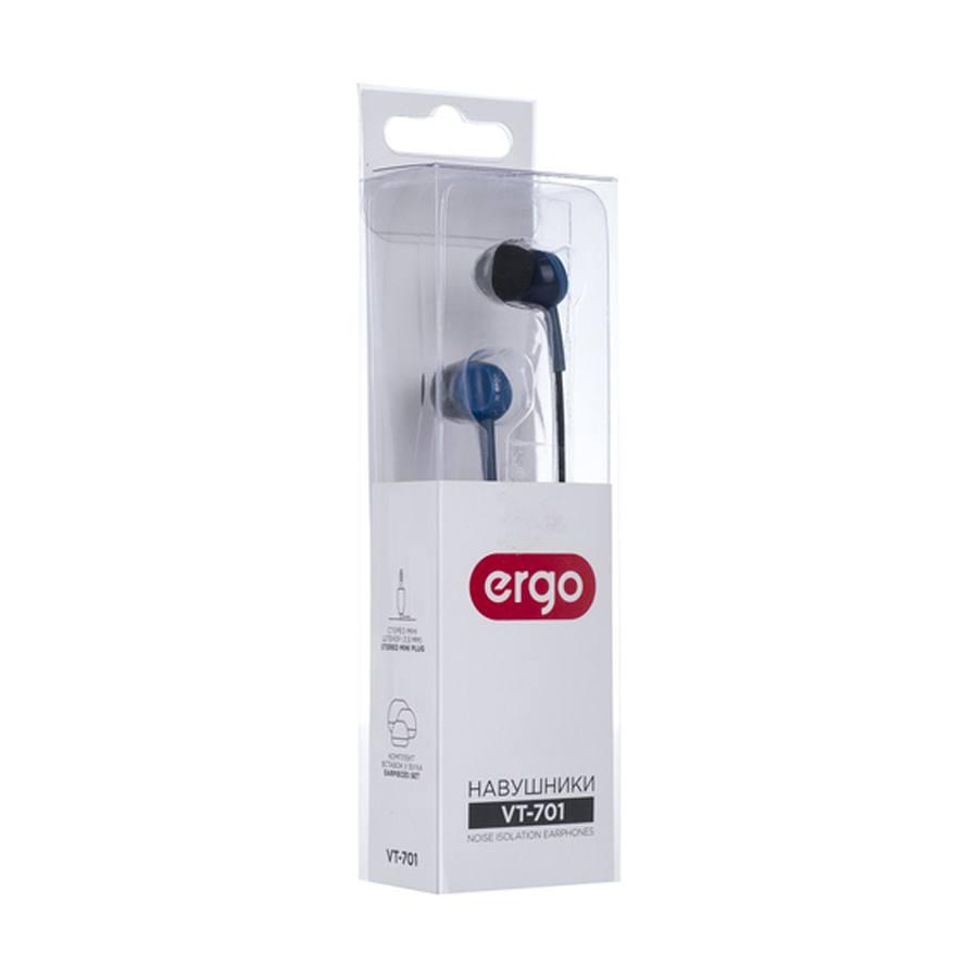 Наушники ERGO Ear VT-701 Blue