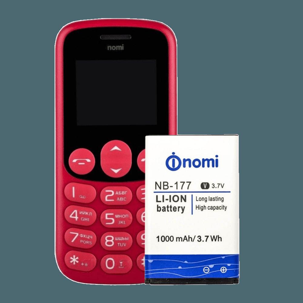 АКБ Nomi NB-177 (i177) 100% or