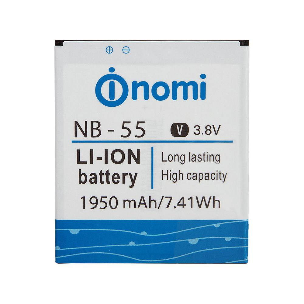 АКБ Nomi NB-55 (i505) 100% or