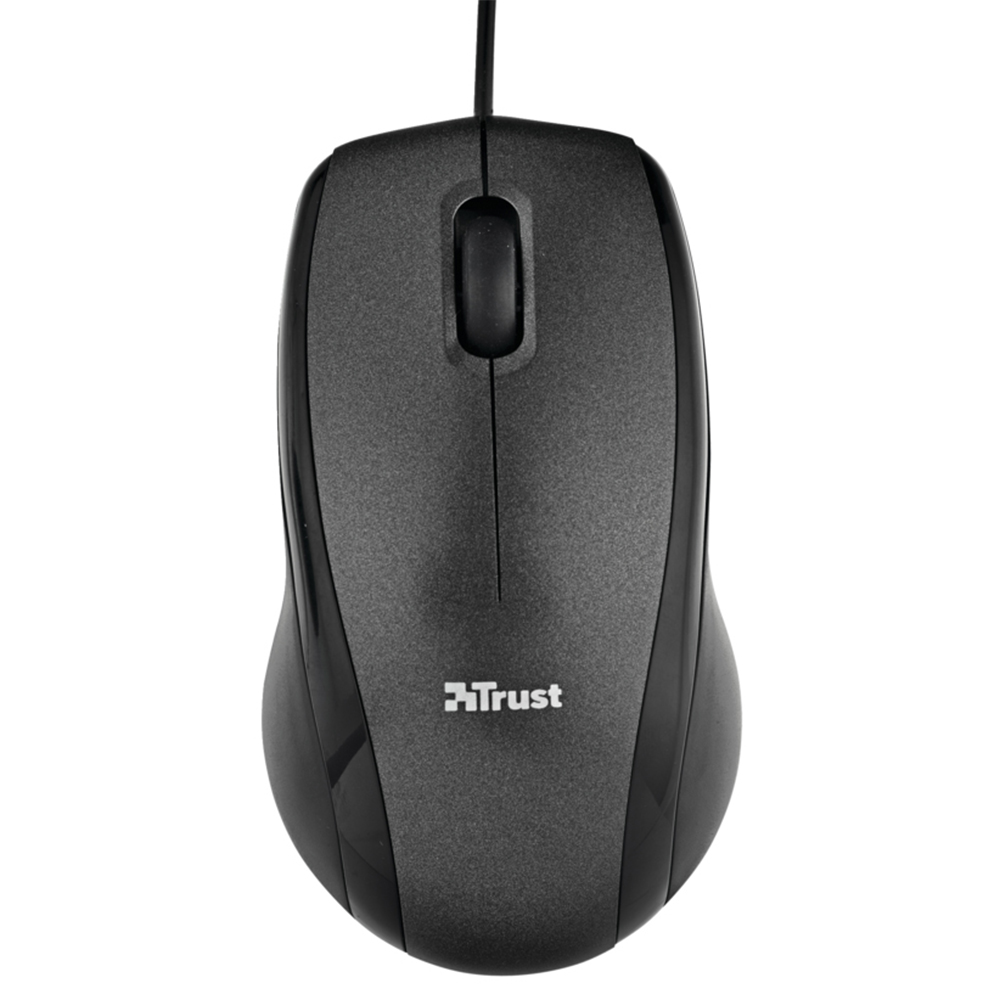 Проводная мышь Trust Carve usb opt mouse Black (15862)