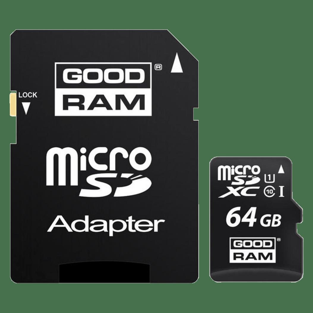 Карта памяти Goodram 64GB microSDXC Class 10 UHS-I + SD Adapter