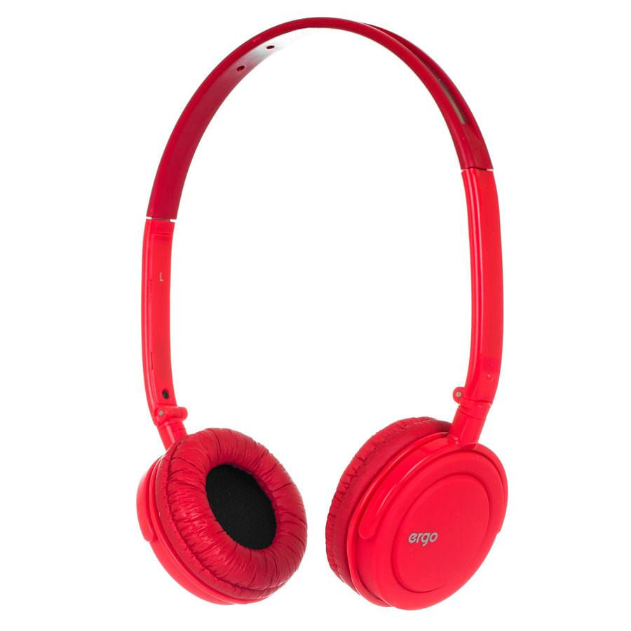 Наушники ERGO Ear VM-330 + mic Red