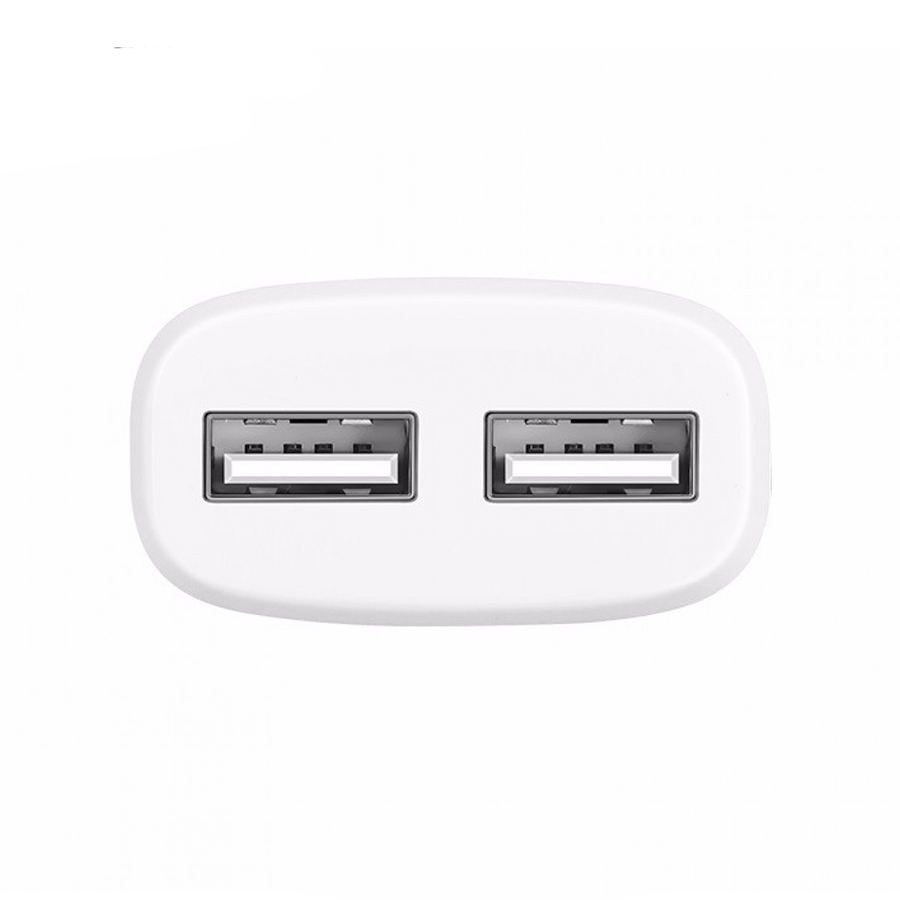 СЗУ Hoco C12 2USB 2.4A+2.4A + Cable Lightning White