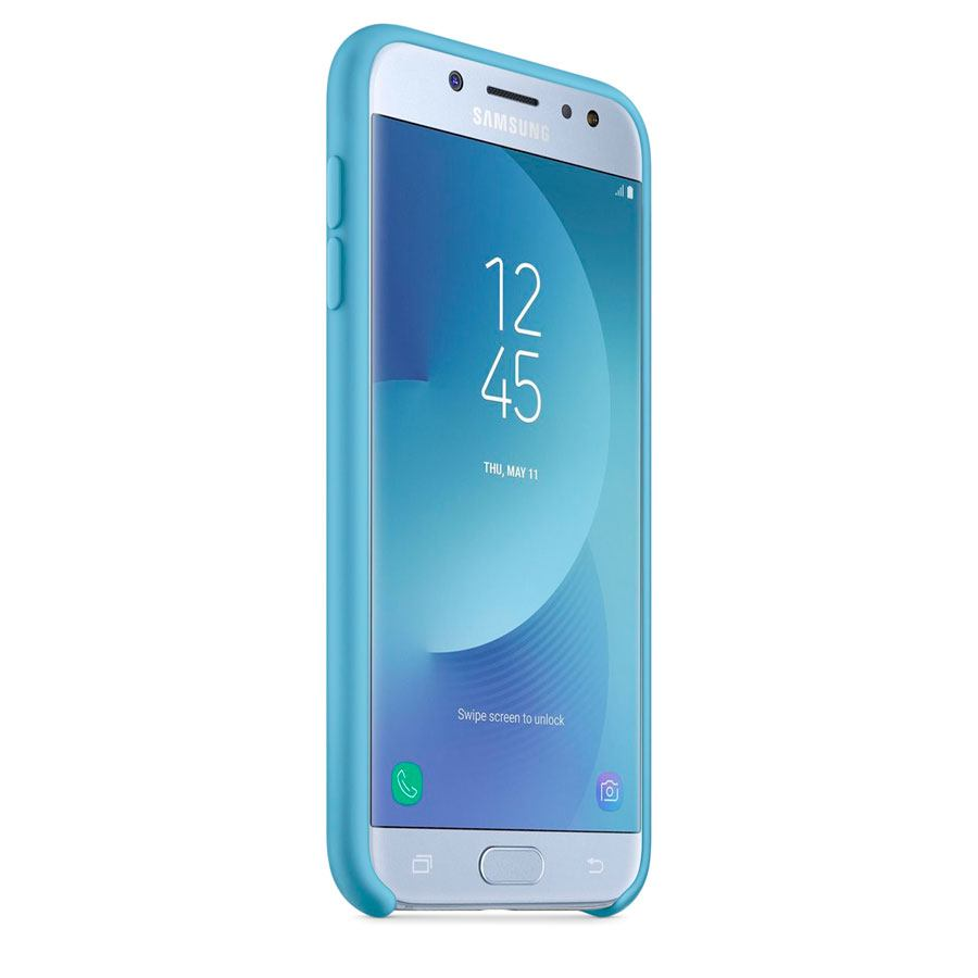 Чехол Original Soft Touch Case for Samsung J1-2016/J120 Blue