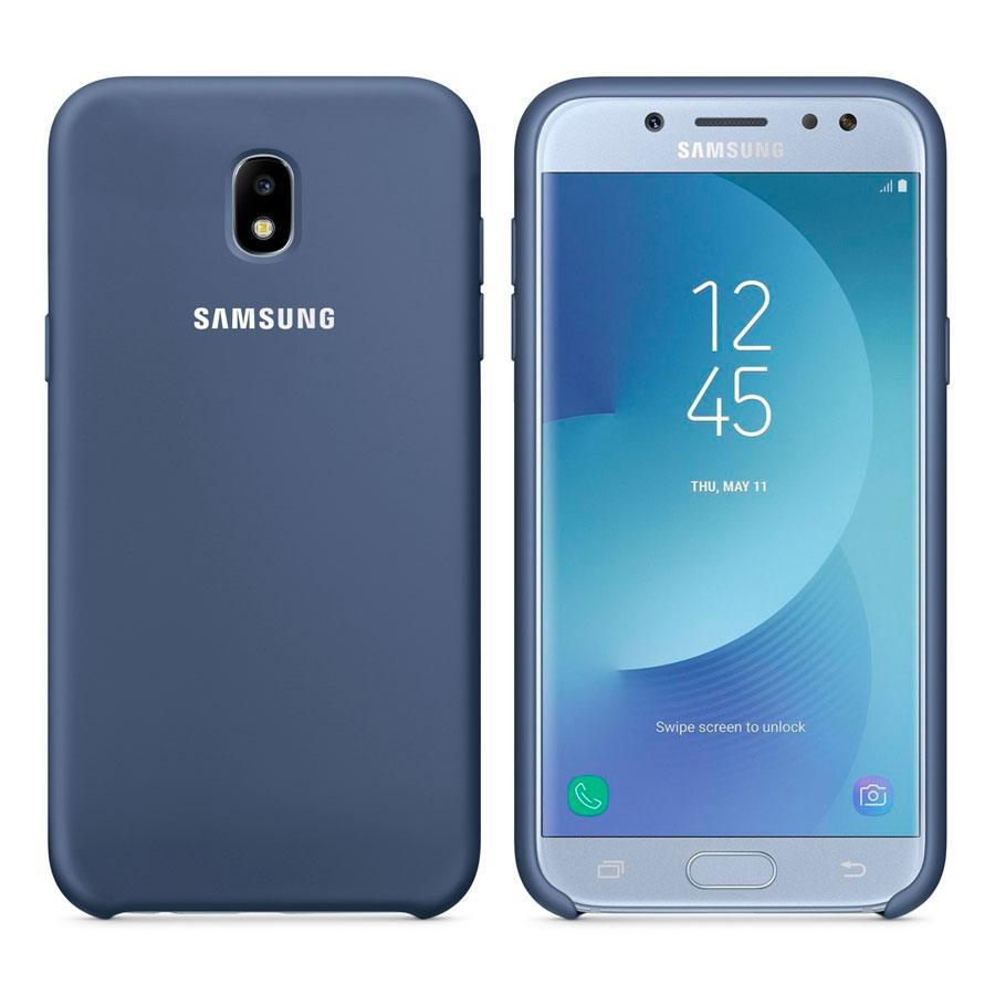Чехол Original Soft Touch Case for Samsung J5-2017/J530 Dark Blue