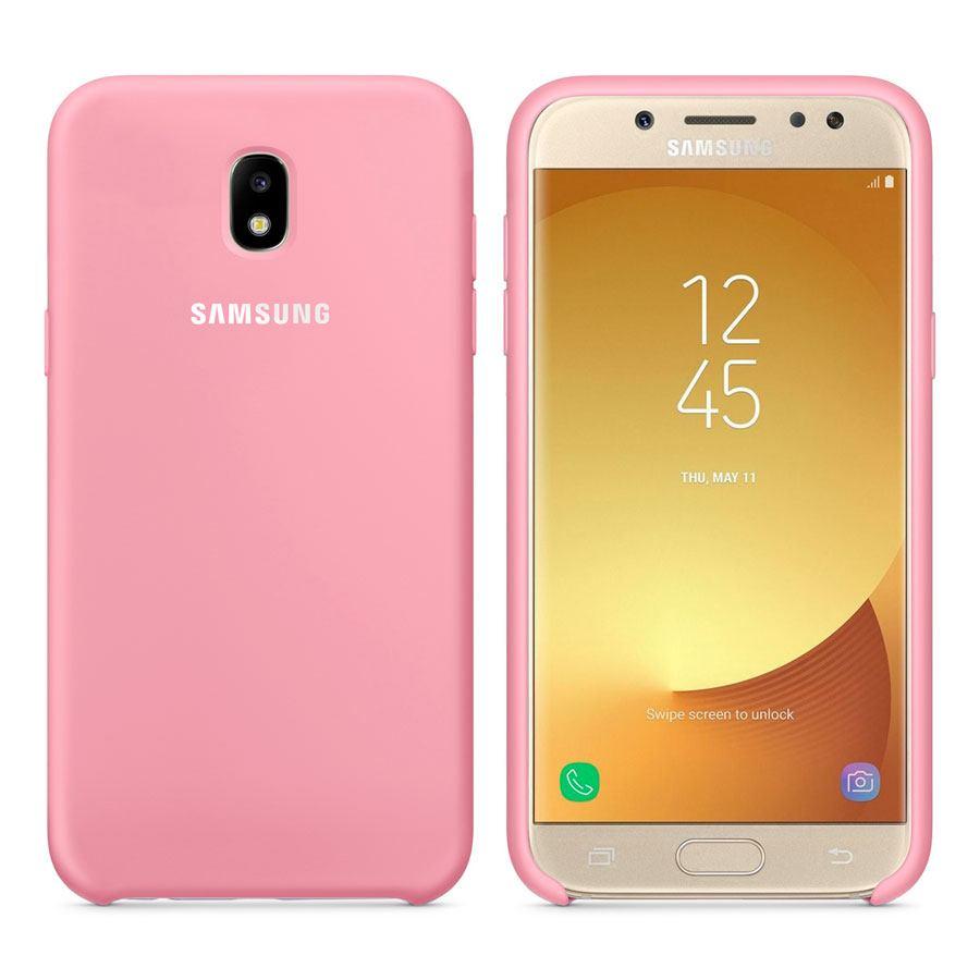 Чехол Original Soft Touch Case for Samsung J7/J700 Light Pink