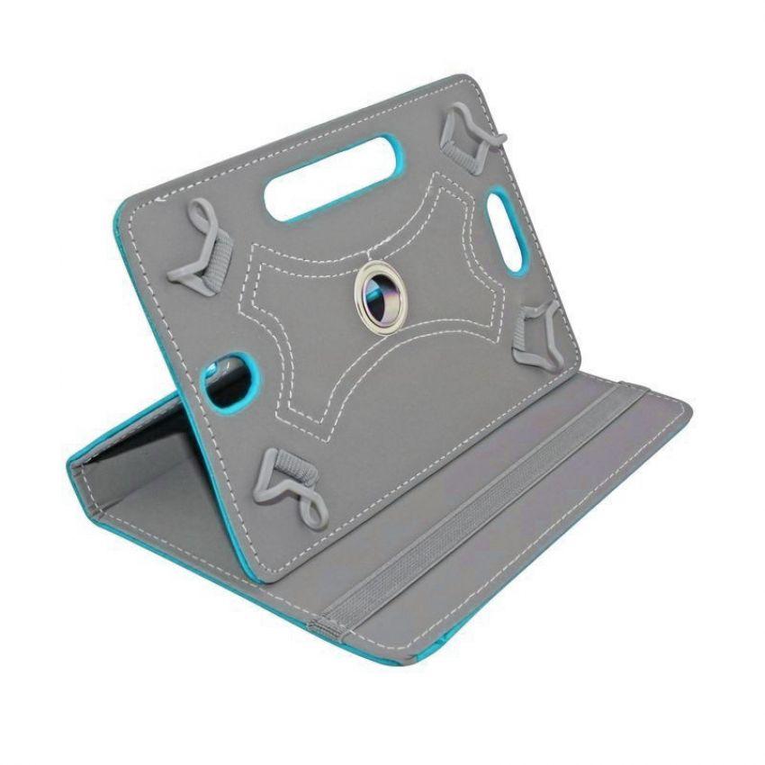 Сумка книжка универсальная для планшетов поворотная 7 дюймов Blue