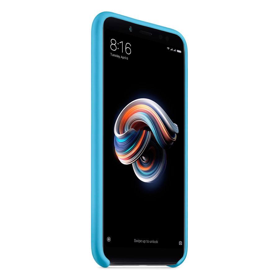 Чехол Original Soft Touch Case for Xiaomi Redmi Note 4x Blue