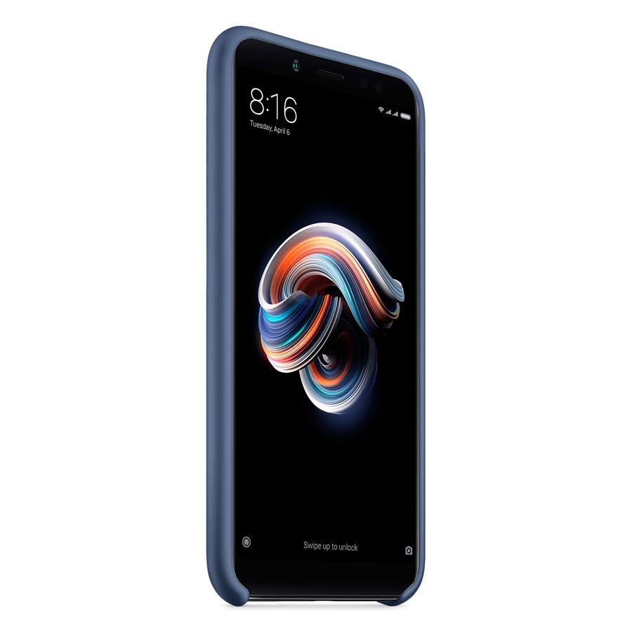 Чехол Original Soft Touch Case for Xiaomi Redmi Note 5a Pro/5a Prime Dark Blue