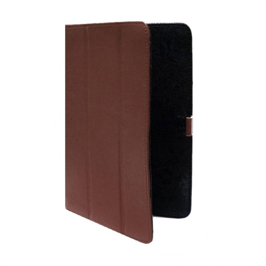 Сумка книжка универсальная для планшетов Ultra 7 дюймов (скоба) Brown