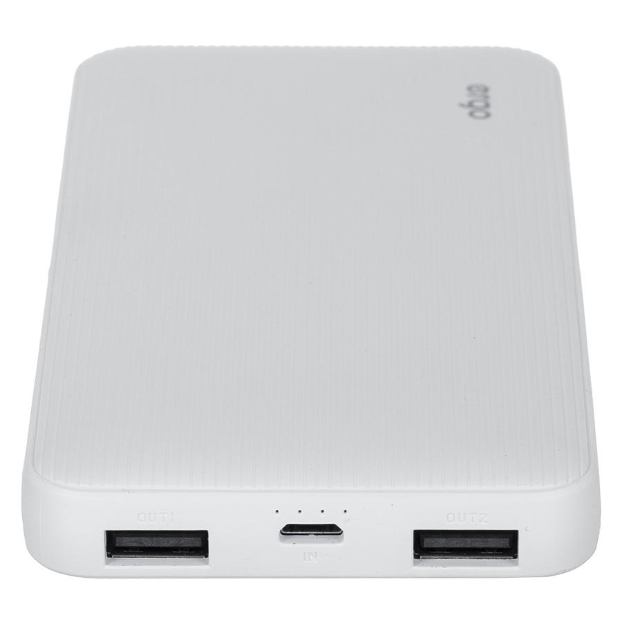 Внешний аккумулятор Ergo LP-103 (10000mAh) White