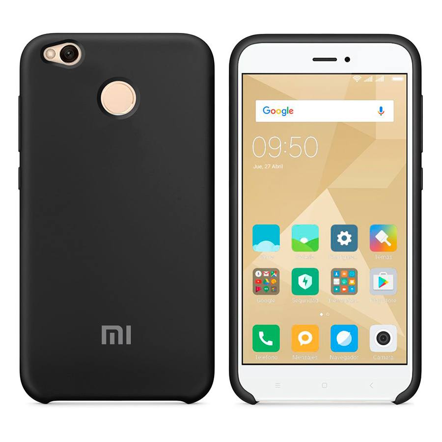 Чехол Original Soft Touch Case for Xiaomi Redmi 4a Black