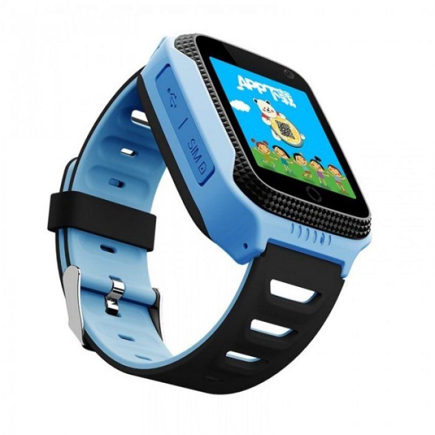 Детские умные часы SLMM Q529 GPS Blue