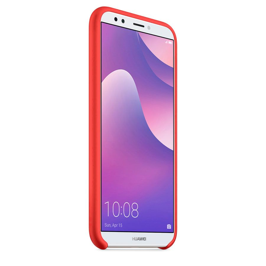 Чехол Original Soft Touch Case for Huawei Y6 Prime 2018 Red