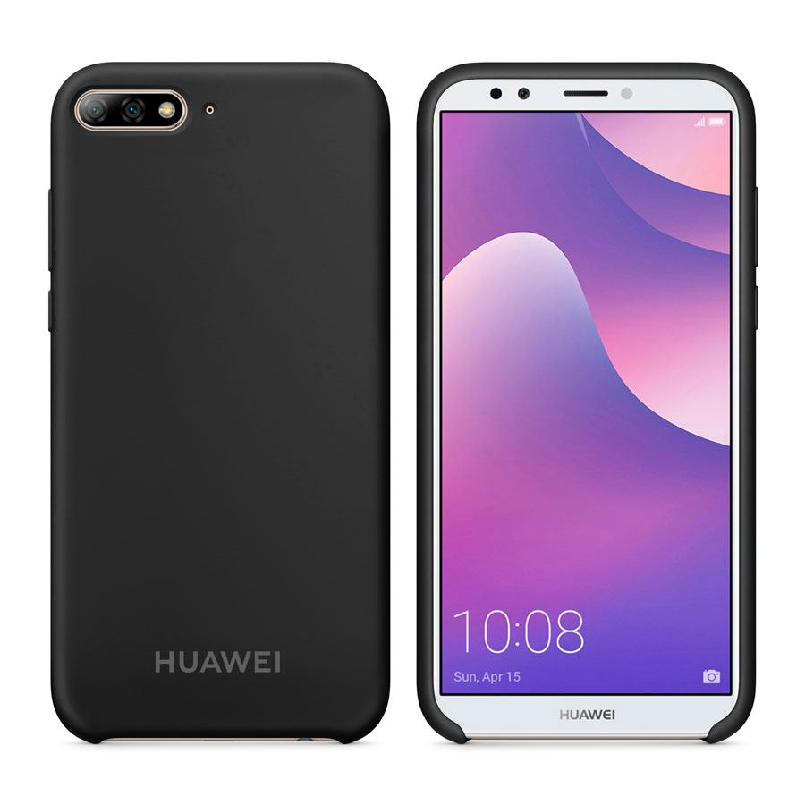 Чехол Original Soft Touch Case for Huawei Y7 Prime 2018 Black