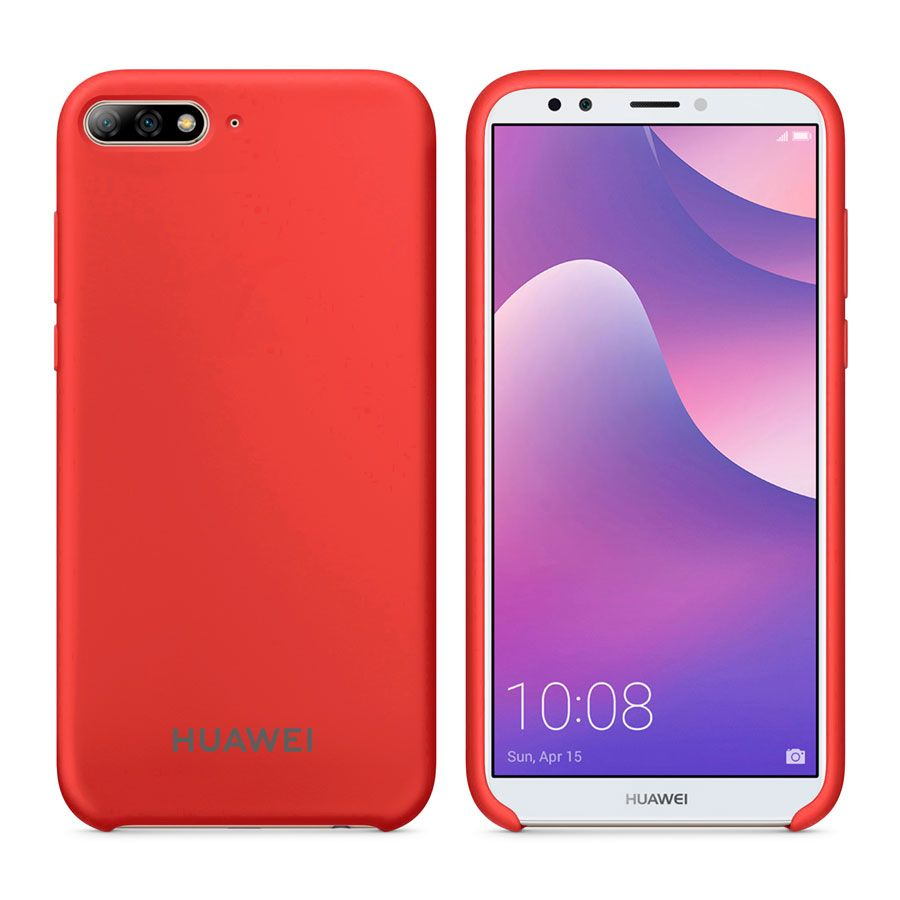 Чехол Original Soft Touch Case for Huawei Y7 Prime 2018 Red