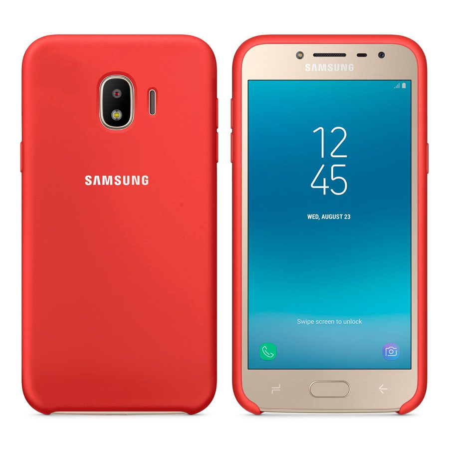 Чехол Original Soft Touch Case for Samsung J2 Pro 2018/J2 2018/J250 Red