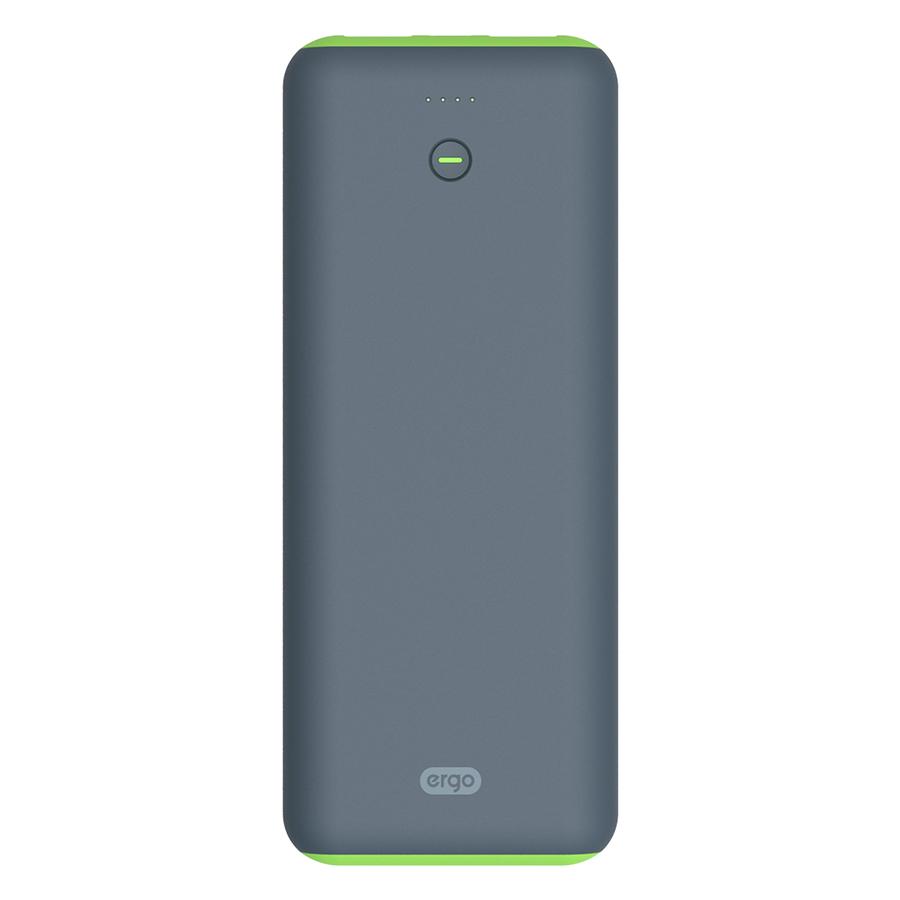 Внешний аккумулятор Ergo LI-S90 (20000mAh) Rubber Gray