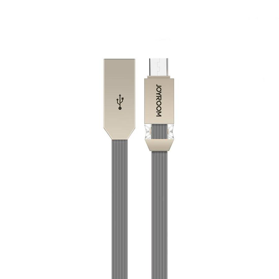 Кабель Joyroom Crystal S-M337 Micro USB 1m Dark Grey