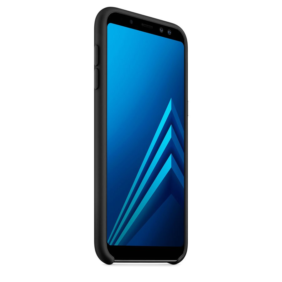 Чехол Original Soft Touch Case for Samsung A6-2018/A600 Black