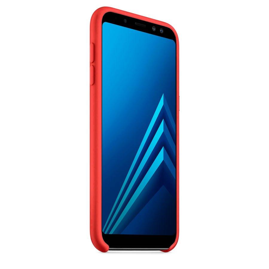 Чехол Original Soft Touch Case for Samsung J6-2018/J600 Red
