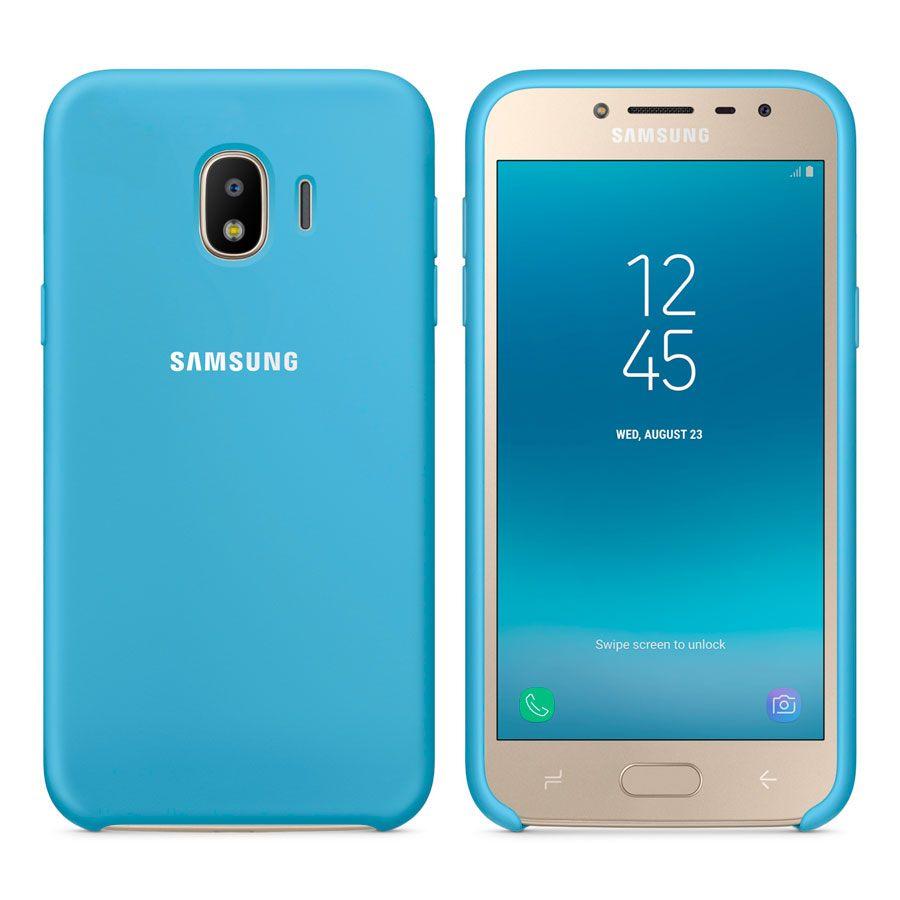 Чехол Original Soft Touch Case for Samsung J4-2018/J400 Blue