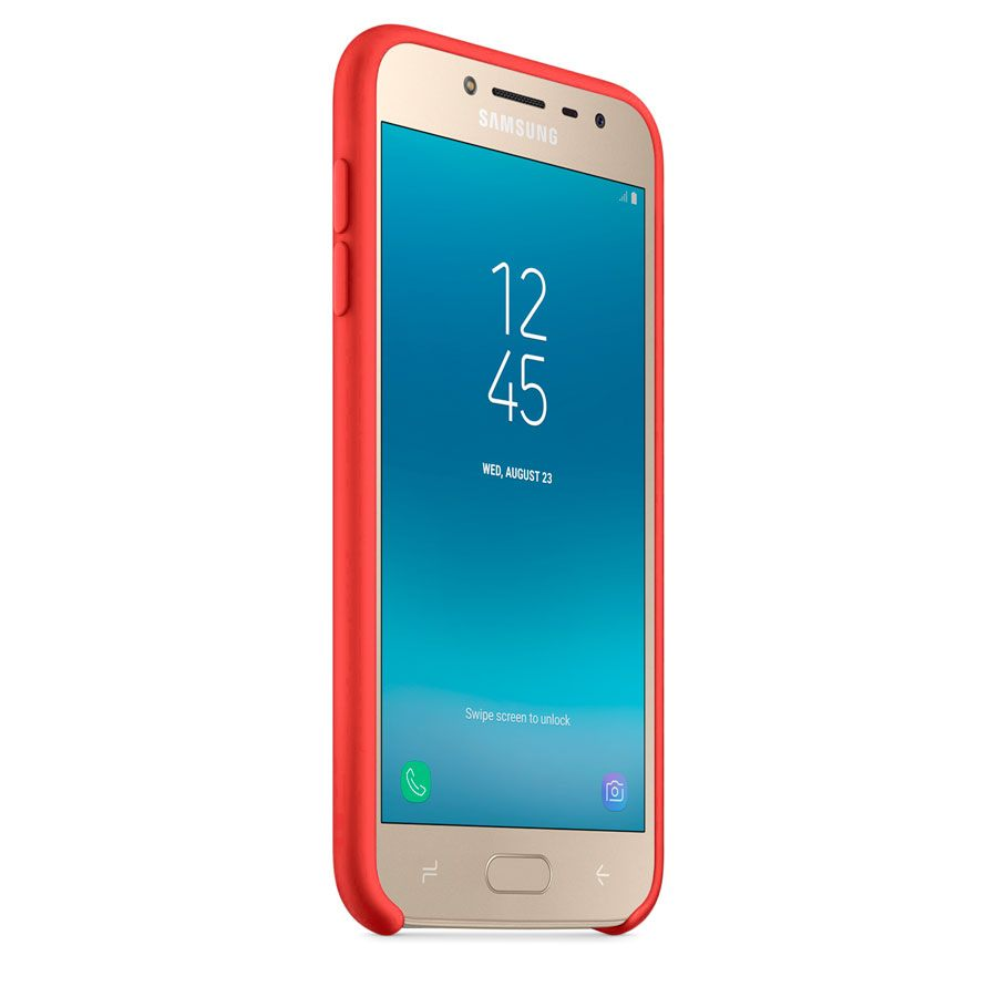 Чехол Original Soft Touch Case for Samsung J4-2018/J400 Red