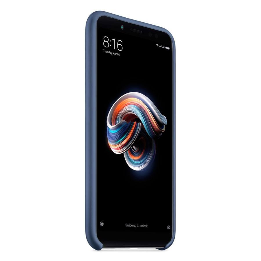 Чехол Original Soft Touch Case for Xiaomi Redmi 5  Plus Dark Blue