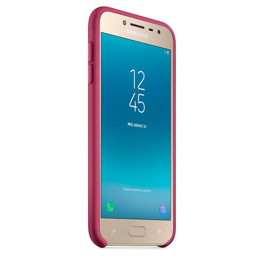 Чехол Original Soft Touch Case for Samsung J4-2018/J400 Bordo