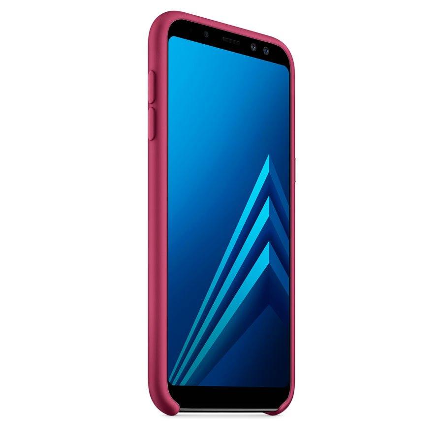 Чехол Original Soft Touch Case for Samsung J6-2018/J600 Bordo