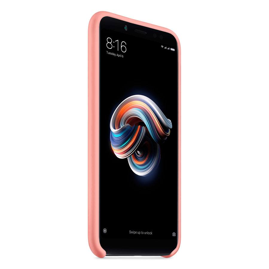 Чехол Original Soft Touch Case for Xiaomi Redmi 5  Plus Pink