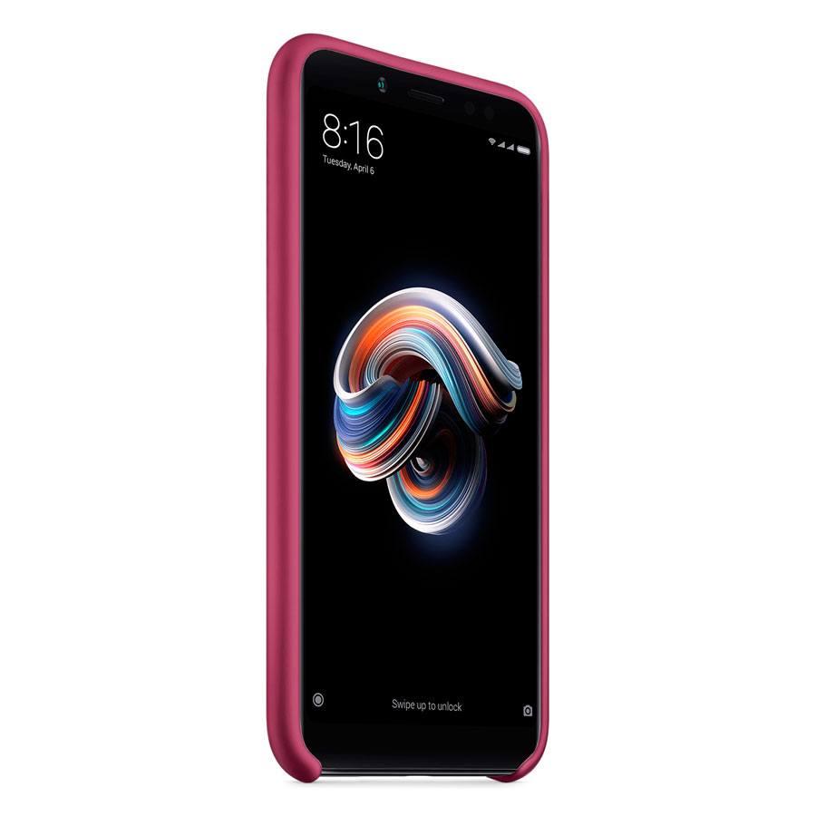 Чехол Original Soft Touch Case for Xiaomi Redmi 6 Bordo