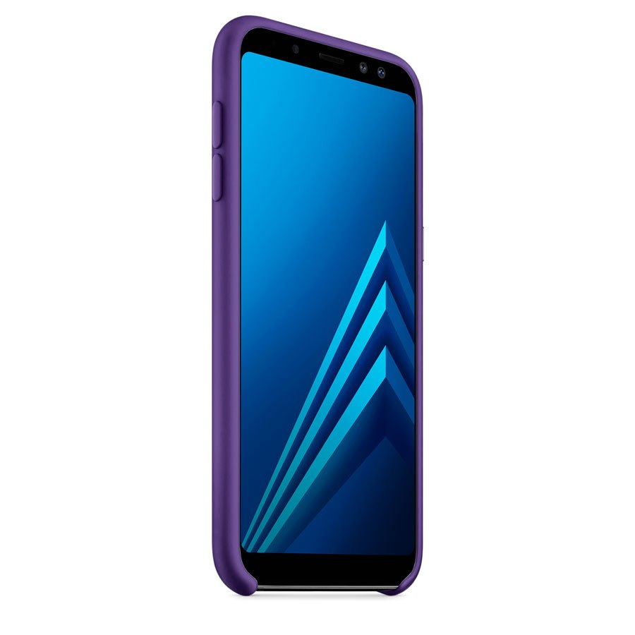 Чехол Original Soft Touch Case for Samsung A6-2018/A600 Violet