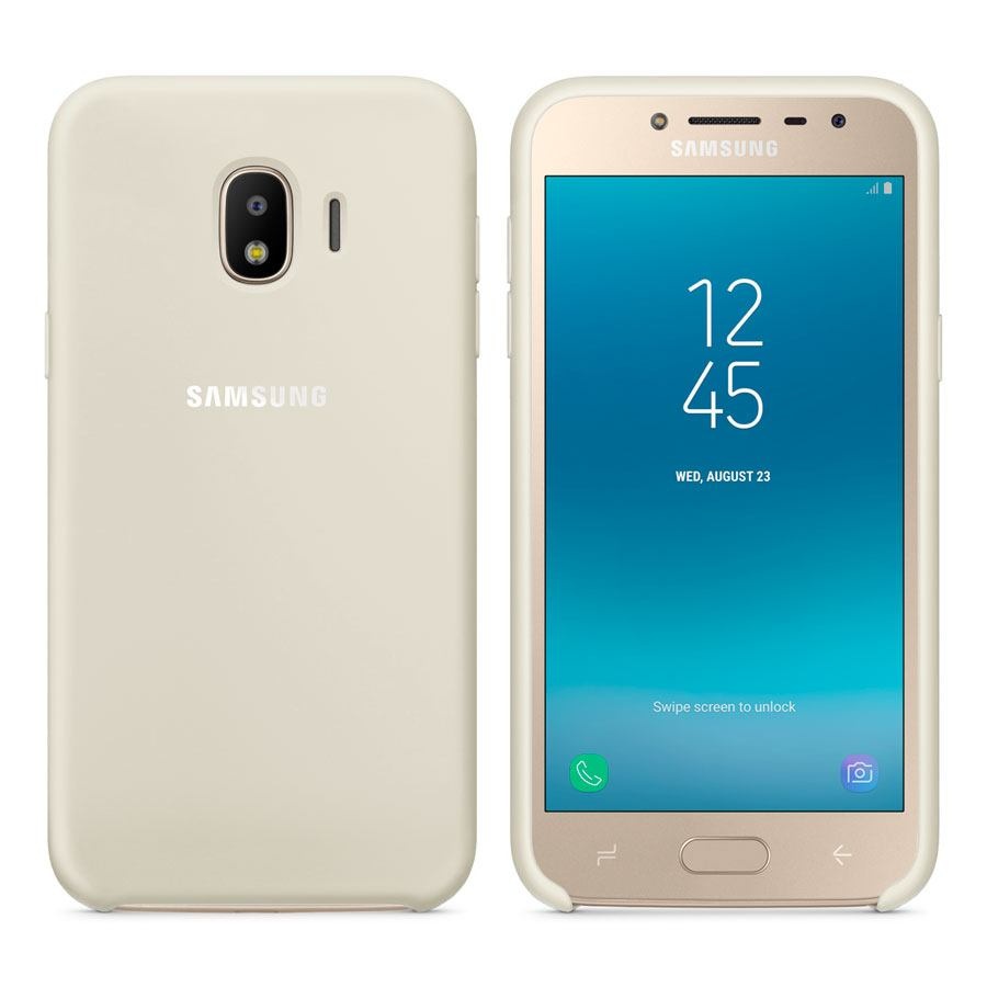 Чехол Original Soft Touch Case for Samsung J2 Pro 2018/J2 2018/J250 White