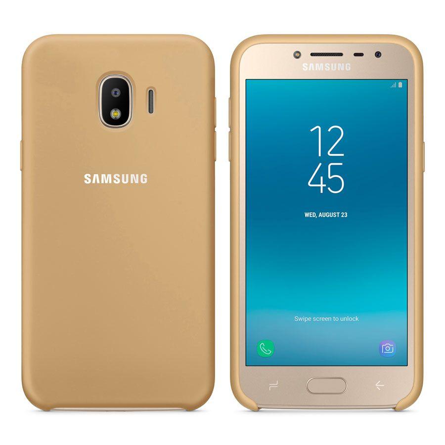 Чехол Original Soft Touch Case for Samsung J4-2018/J400 Gold